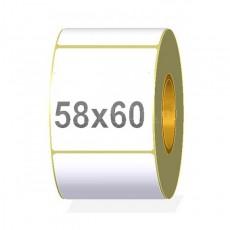 ETYKIETA TERMICZNA 58x60 MM